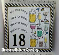 Stampin up Mixed Drinks