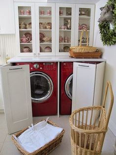 Merveilleux Laundry Room, Pantry Or Summer Kitchen? Nice Way To Have A Great Room And  Incorporate The Laundry Area In With The Kitchen   Model Home Interior  Design