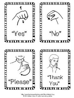 Functional Sign Language Flashcards by Autism Class Simple Sign Language, Sign Language Chart, Sign Language Phrases, Sign Language Alphabet, Learn Sign Language, British Sign Language, Deaf Language, Sign Language Interpreter, Makaton Signs