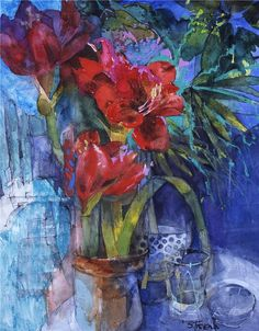 British artist, SHIRLEY TREVENA. Wonderful use of watercolors. Risk taker with both rules and color. Google Image Result for http://s13.radikal.ru/i186/1006/c4/aebf43b7daabt.jpg