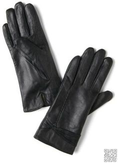 2. #Plain Black #Gloves - 8 Stylish Gloves for You to Wear This #Winter ... → #Fashion #Saint