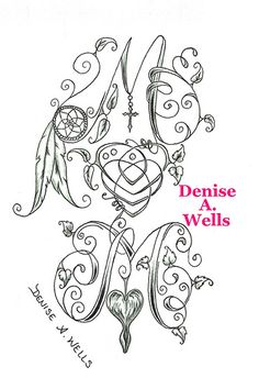 Mom tattoo design by Denise A. Wells