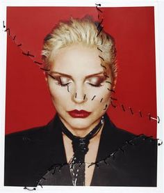 Rankin (Debbie Harry from Blondie) - destroy; Rankin Photography, A Level Photography, Portrait Photography, Fashion Photography, Distortion Photography, John Rankin, Pc Photo, Photo Shoot, Blondie Debbie Harry