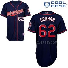 http://www.xjersey.com/twins-62-graham-blue-cool-base-jerseys.html TWINS 62 GRAHAM BLUE COOL BASE JERSEYS Only $43.00 , Free Shipping!