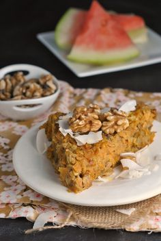 Sweet Potato and Apple Breakfast Bake (Whole30 Approved) #whole30 #vegetarian