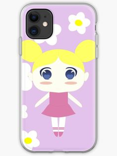 Chibi version of Dee Dee from Dexter& Laboratory Dee Dee, New Iphone, Dexter, Iphone Case Covers, Chibi, Finding Yourself, Classic T Shirts, Artists, Unique