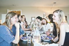 Spring Summer Kinfolk dinner Amsterdam photo Sophia van den Hoek