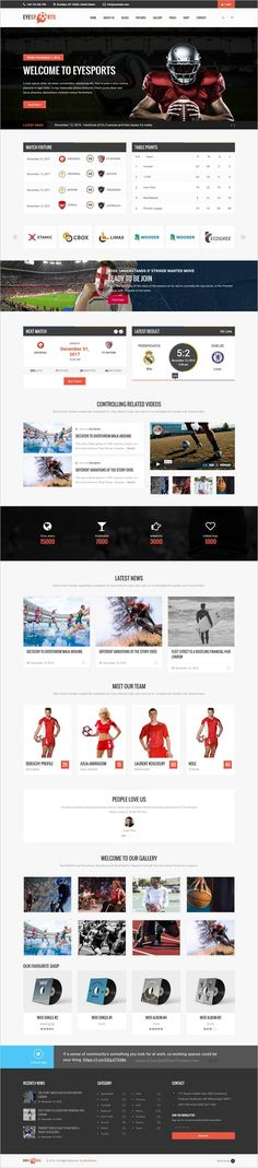 Eyesports is beautifully design responsive #WordPress theme for #soccer clubs, leagues, #sports fixture and events websites download now➩ https://themeforest.net/item/eye-sports-fixtures-and-sports-wordpresss-theme/19002764?ref=Datasata