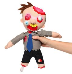 Dead Ted Zombie Plush $19.99
