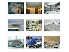 CANVAS INTERIOR & UPHOLSTERY CUSTOM MADE FOR BOATS & YACHTS Boat Upholstery, Boat Interior, Yacht Boat, Yachts, Boats, Photo Wall, Canvas, Home Decor, Tela