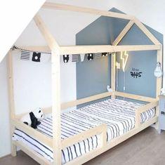 Little dreamers bedhuisje Sem Toddler House Bed, Diy Toddler Bed, Baby Bedroom, Kids Bedroom, Diy Bett, Junior Bed, Buy Furniture Online, Furniture Websites, House Beds