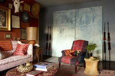 Mix and Chic: Home tour- A textile designer's exotic New York home!