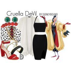 Disney Bound - Cruella DeVil
