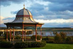 Magdalen Green in Dundee. Playing with the Tayport Instrumental Band on that rotunda is a treasured memory.