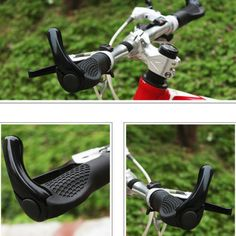 MOUNTAIN BMX MTB BIKE CYCLE BICYCLE DOUBLE LOCK ON LOCKING HANDLE BAR GRIPS ENDS