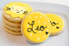cutest little lion cookies ever!