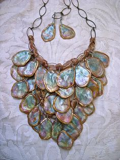 A Mermaid's Tail | tresjoliedesignsbysue.com | Unique, hand-crafted, polymer clay jewelry and accessories by Sue Evenson