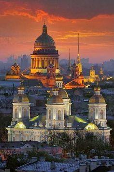 Saint Petersburg...going!