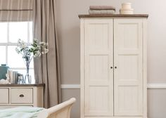 Get luxury country chic style with this Worcester Reclaimed Wood Double Wardrobe. Beautiful solid wood Bedroom Wardrobe & Rustic Furniture with Free Delivery! Painted Wardrobe, Oak Wardrobe, Double Wardrobe, Wooden Wardrobe, Wardrobe Furniture, Bedroom Wardrobe, Bedroom Furniture, Home Furniture, Solid Wood Wardrobes