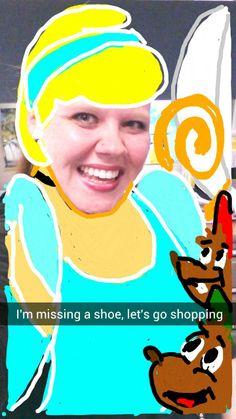 Cinderella #snapchat