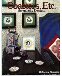 Coasters Etc Serendipity Designs Counted Cross Stitch Pattern Book by grammysyarngarden on Etsy
