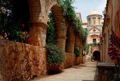 TRAVEL'IN GREECE | Agios Triados Monastery, #Chania, #Crete, #Greece, #travelingreece