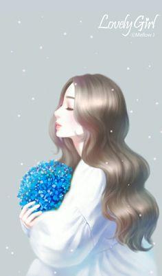 Read Fan Art Girl from the story Girl Cartoon, Cartoon Art, Fille Anime Cool, Cover Wattpad, Anime Korea, Cute Kawaii Girl, Lovely Girl Image, Cute Girl Wallpaper, Princess Drawings