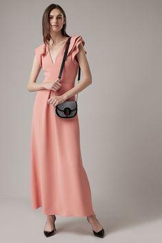 6880c575e97e Cantonwalker Women s Dress Deep V-Neck Casual 2018 Summer 3 4 Sleeve Beach  Dress Holiday Dress Waist Tie Printed Dress 0058