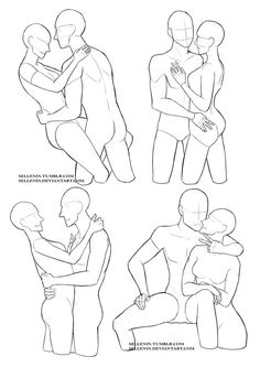 Couples reference poses by Sellenin.deviantart.com on @DeviantArt