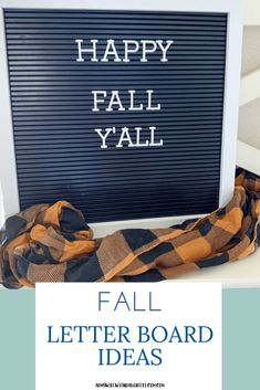 Fall Season Letter Board Sayings - Army Wife With Daughters Autumn Inspiration, Autumn Ideas, Thankful And Blessed, Fall Scents, Happy Fall Y'all, Fall Decor, Seasonal Decor, Fall Season, Homemaking