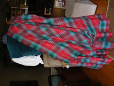 Aboyne with green vest from the back #British #Columbia #Tartan