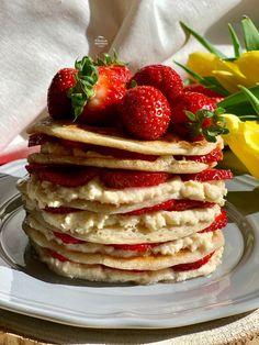 Amerikai pali (dupla adag) 20db - NAGYON JÓ Pancakes, Paleo, Breakfast, Food, Morning Coffee, Eten, Beach Wrap, Meals, Pancake