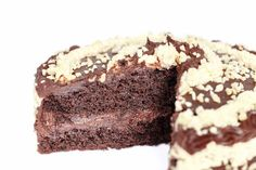 Tarta de chocolate vegana y sin gluten // Glutenfree and vegan chocolate cake