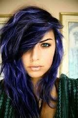 Miss my midnight blue hair :(