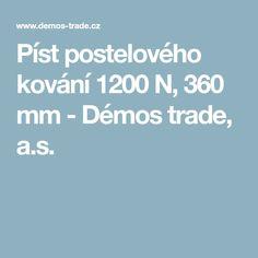 Píst postelového kování 1200 N, 360 mm - Démos trade, a.s.