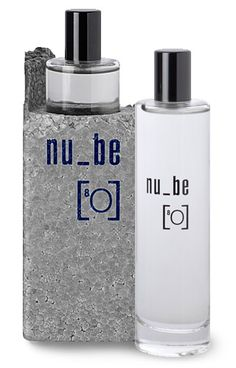 Absence made present. Nu_be's oxygen is redolent of big spaces and open air. An abstract take on the ozonic genre of 'clean' fragrances.