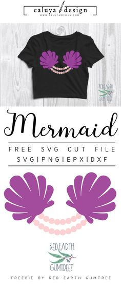 FREE mermaid bra cut file, Printable vector clip art download. Free printable clip art mermaid shell. Compatible with Cameo Silhouette, Cricut explore and other major cutting machines. 100% for personal use, only $3 for commercial use. Perfect for DIY craft project with Cricut & Cameo Silhouette, card making, scrapbooking, making planner stickers, making vinyl decals, decorating t-shirts with HTV and more! Free SVG cut file, free marmaid, seashell and perl svg file
