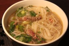 Bouillon Thai, Easy Diner, Snack Recipes, Cooking Recipes, Asian Recipes, Ethnic Recipes, Good Food, Yummy Food, Asian Cooking