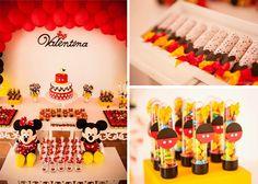 Mickey Mouse Themed Birthday Party with So Many Great Ideas via Kara's Party Ideas | KarasPartyIdeas.com #mickeymouse #mickeymousedecor #par...