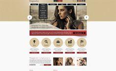 110+ Fresh FREE Website Layout PSD Templates