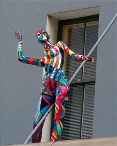 Mosaic Projects, Art Projects, Pop Art, Mannequin Art, Art Sketchbook, Mannequins, Collage Art, Sculpture Art, Art For Kids