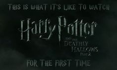 """This Is What It's Like To Watch The Final """"Harry Potter"""" For The First Time"""