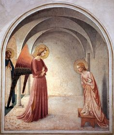 Fra Angelico. Anunciación de San Marco de Florencia - Buscar con Google