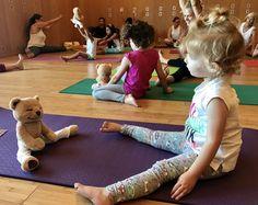 Yoga for kids - yoga works Meddy Teddy workshop