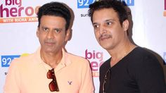 Manoj Bajpai and Jimmy Shergil at Launch Of Big FM Brand New Show Big He...