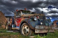 Another very popular image of mine. This old wrecker sits out front of J.E.T. Service in Victor, CO