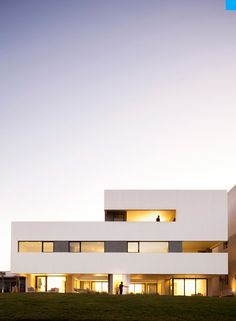 This very original and outstanding house, The S Cube constructed in Kuwait by AGI Architects is in fact the home to two brothers and their sister who wished to continue enjoying the company of each other but at the same time enjoying some privacy for themselves.