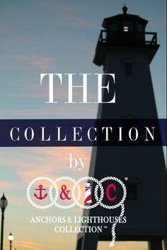 Anchors & Lighthouses Collection www.anchorsandlighthousesco.bigcartel.com