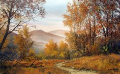 Bieszczady Mountains in autumn