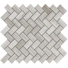 Discount Glass Tile Store - Marble Herringbone Mosaic - Wooden White x Honed Marble, Marble Mosaic, Mosaic Glass, Mosaic Tiles, Mosaics, Marble Polishing, Tile Stores, Style Tile, Hexagon Shape